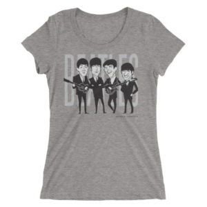 Beatles Ladies' short sleeve t-shirt