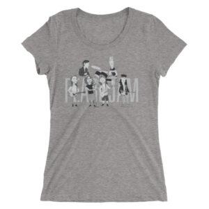 Pearl Jam Ladies' short sleeve t-shirt